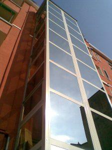 Ascensore condominiale per esterni Milano