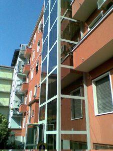 Ascensore esterno condominiale Milano
