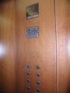 Interni ascensori hotel Milano