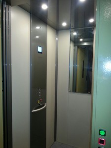 Ascensore per disabili e anziani milano - interno cabina 3