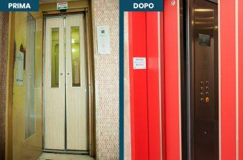 Modernizzazione cabina ascensore