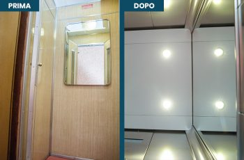 Restyling cabine ascensori