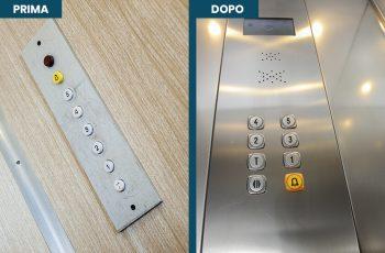 Modernizzazione pulsantiera ascensori