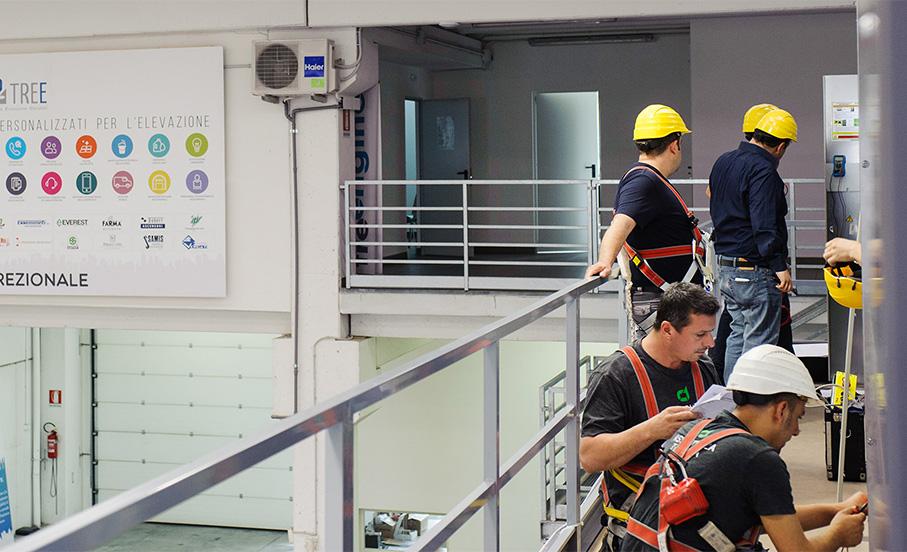 Formazione ascensoristi costante