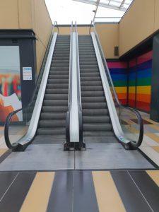 Manutenzione scali mobili a Milano