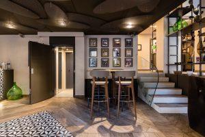 ascensore per disabili in ristorante
